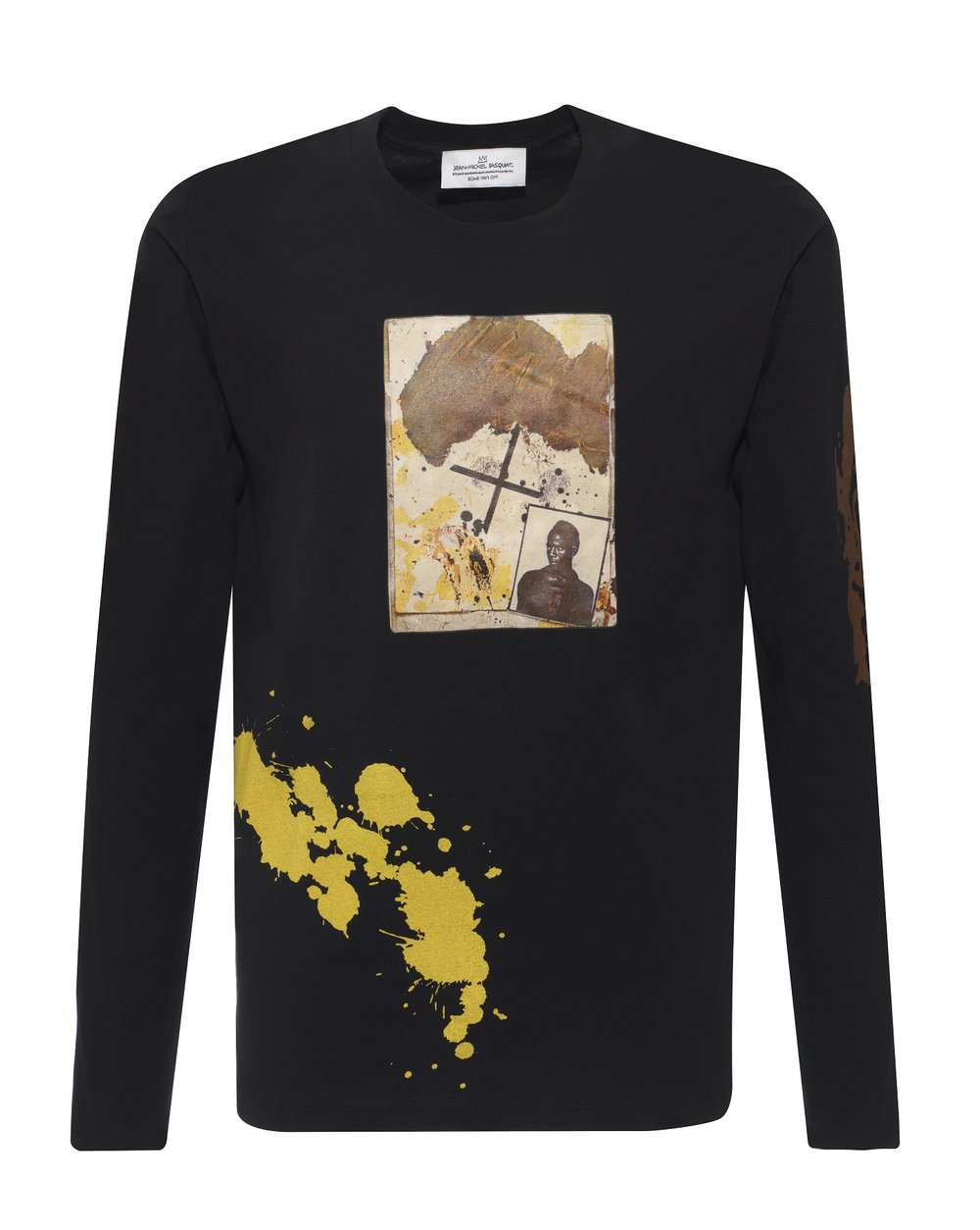 BASQUAIT - NOTEBOOK LONG SLEEVS SWEATSHIRT - BLACK - £100 - BROWNS FASHION.jpg