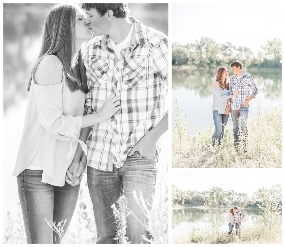 Dakota Nature Park Engagement Photography | Brookings South Dakota | Andrea Rodway Photography