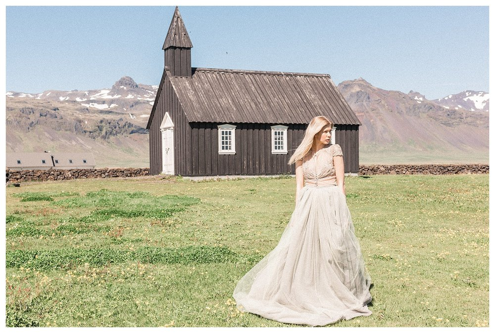 Búðakirkja Iceland Wedding Photographer | Andrea Rodway Photography