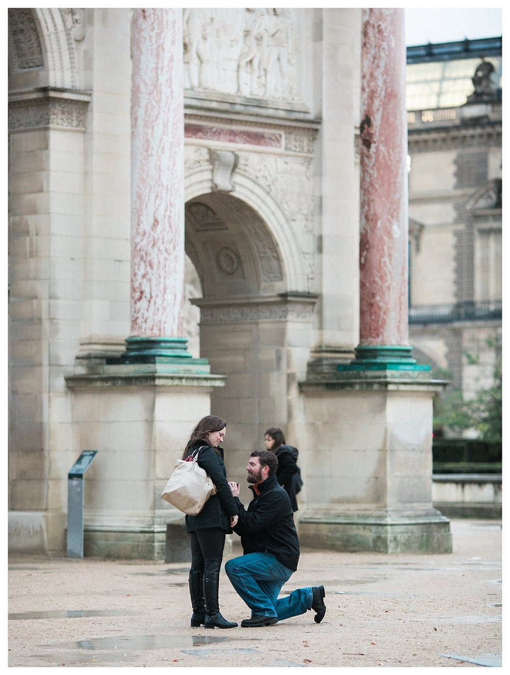 Our Engagement in Paris | Paris, France | Andrea Rodway Photography
