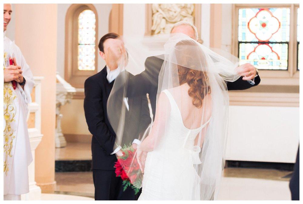 St. Patrick Catholic Church Wedding Photography | Andrea Rodway Photography