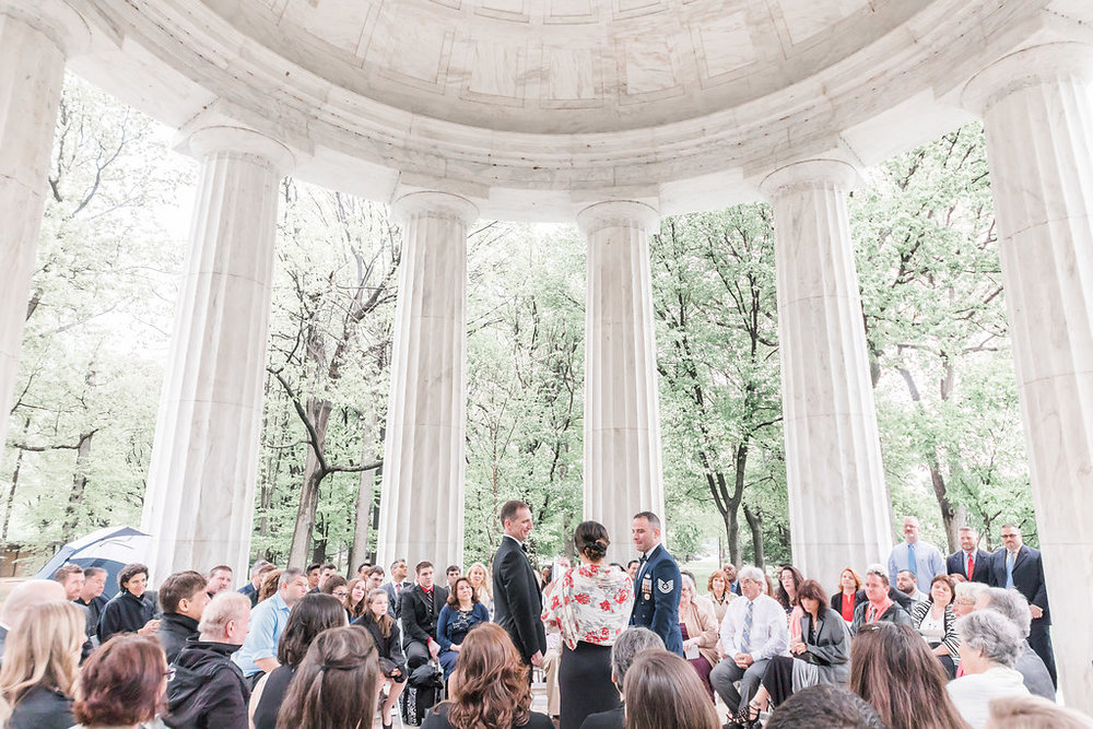 LGBT DC War Memorial Wedding | Andrea Rodway Photography