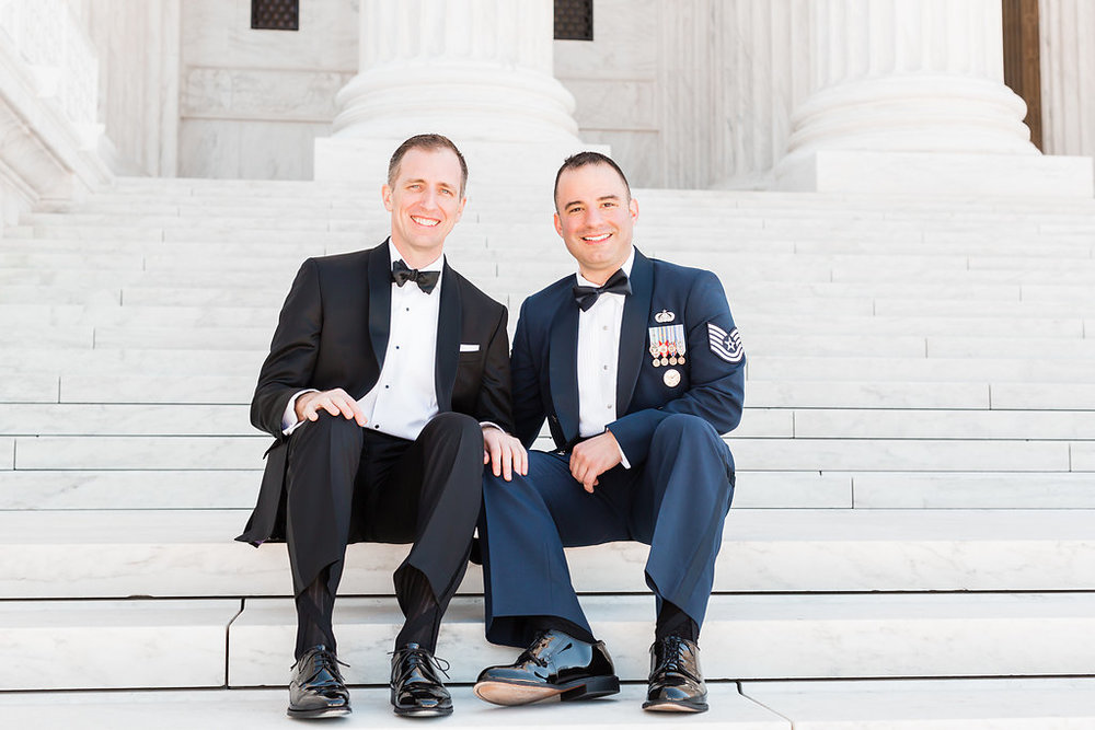 DC War Memorial Wedding | Andrea Rodway Photography