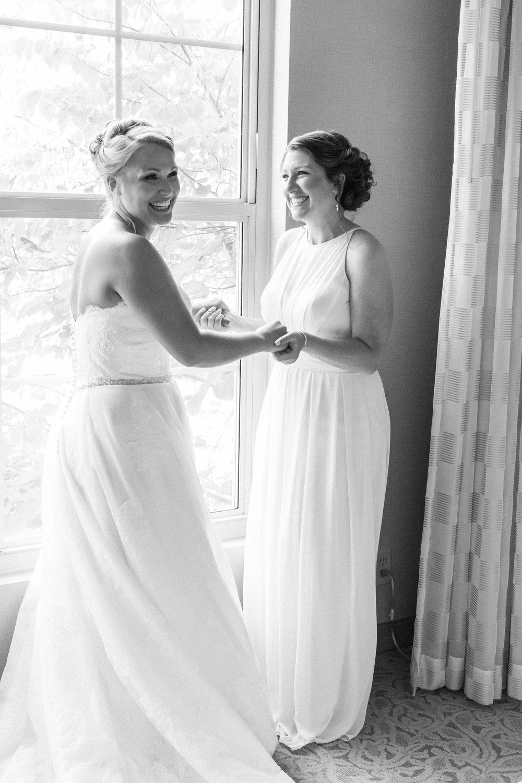 Blush & Navy Chantilly National Golf & Country Club Wedding | An