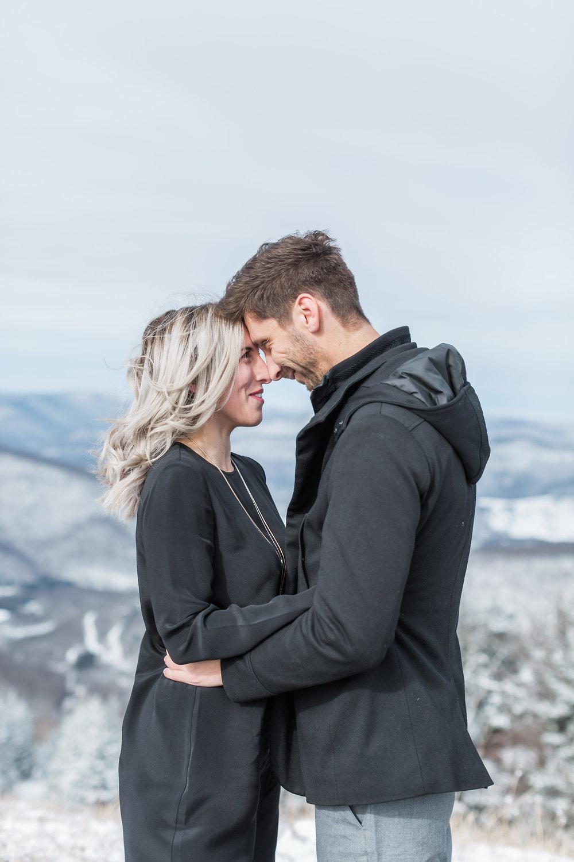 Snowshoe West Virginia Engagement Photographer |Andrea RodwayPhotography