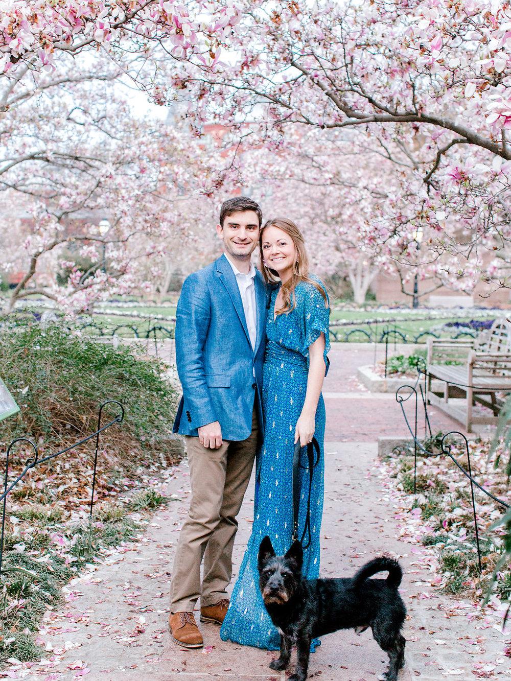 Washington D.C. Cherry Blossom Engagement | Andrea Rodway Photog