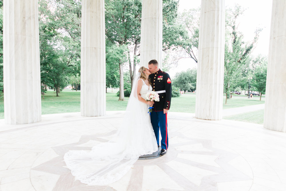 DC War Memorial Wedding DC Fine Art Photographer Andrea Rodway Photography