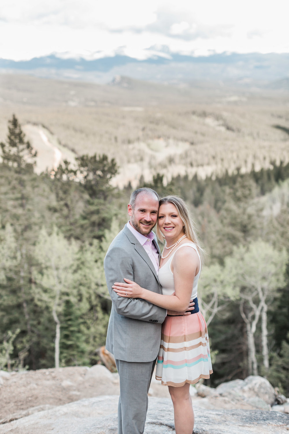 Golden Gate Canyon Engagement Golden Colorado | Andrea Rodway Photography