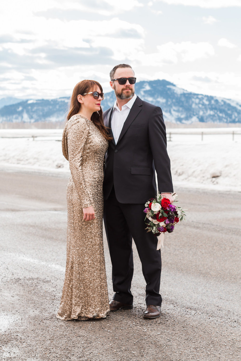 Jackson Hole Engagement Photos | Andrea Rodway Photography