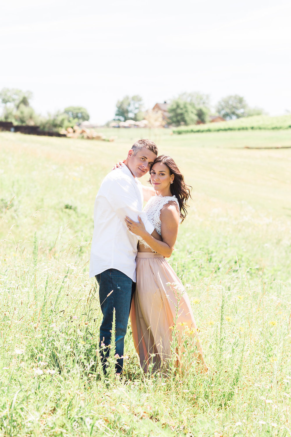 Stone Tower Winery Engagement Photography  | Andrea Rodway Photography