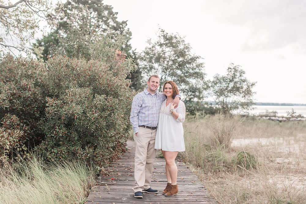Jefferson Patterson Park Engagement Photos | Andrea Rodway Photography