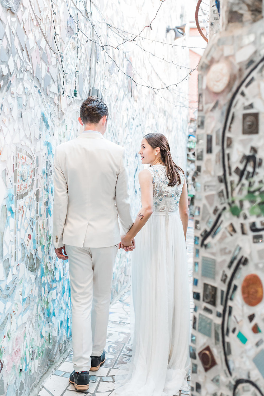 Philadelphia's Magic Gardens Wedding | Andrea Rodway Photography