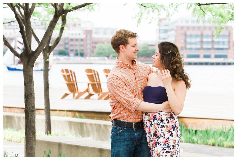 Locust Point Engagement | Andrea Rodway Photography