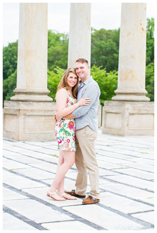 National Arboretum Engagement Photos