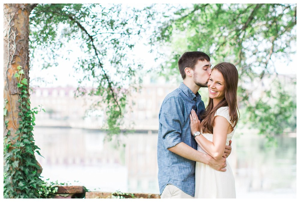 Old Town Alexandria Engagement Virginia | Andrea Rodway Photogra