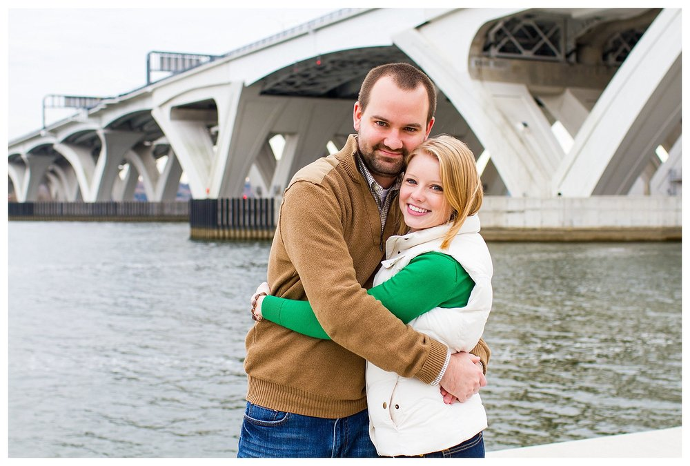 Old Town Alexandria Engagement | Andrea Rodway Photography