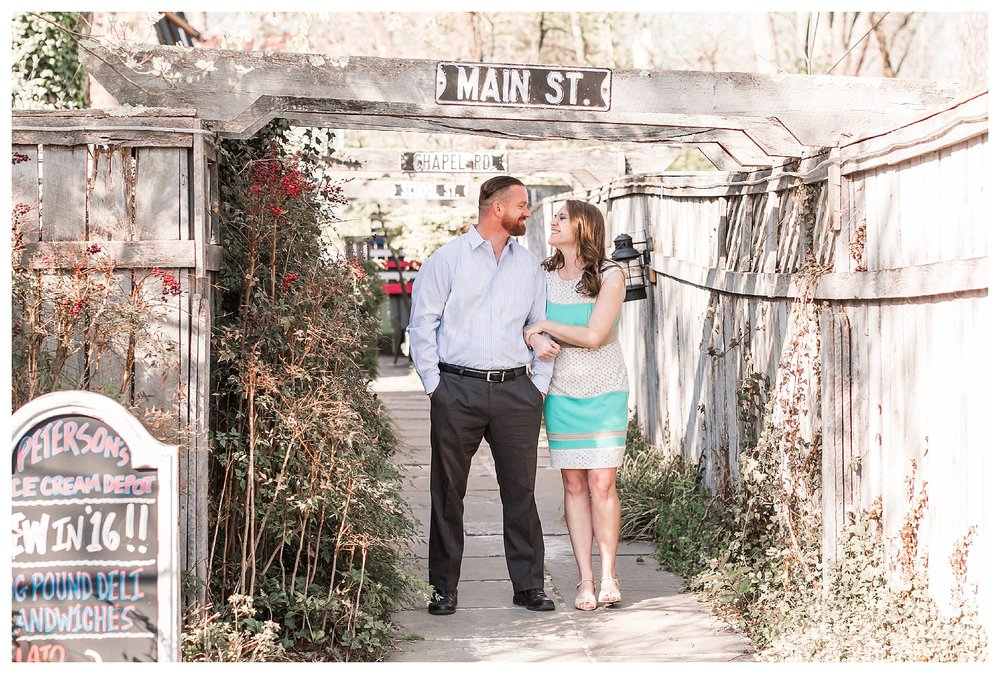 Cherry Blossom Clifton Virginia Engagement Photography Andrea Rodway Photography