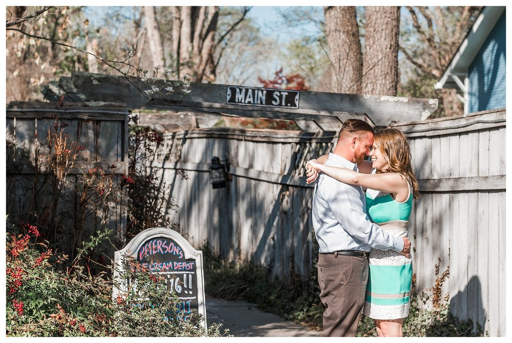 Clifton Virginia Engagement | Andrea Rodway Photography