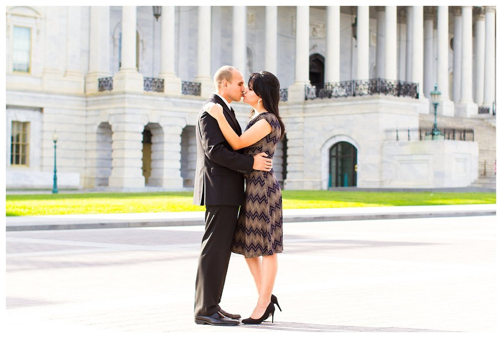 Capitol Hill Engagement | Andrea Rodway Photography
