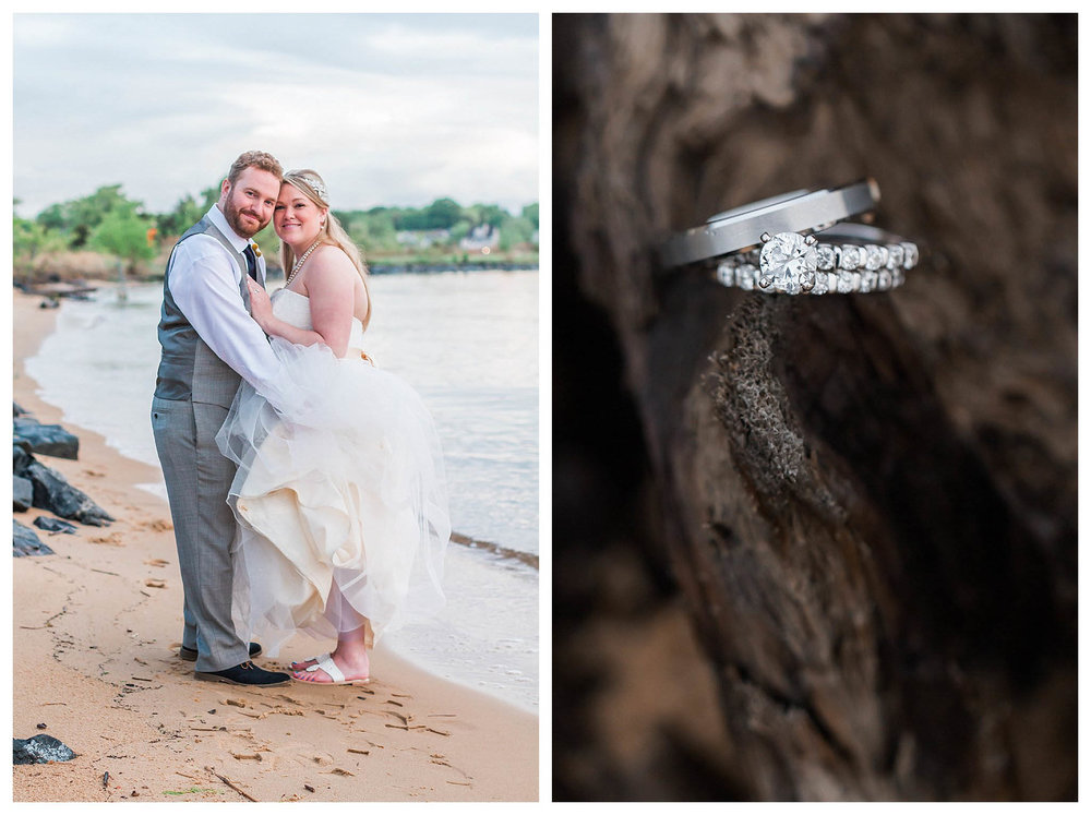 Chesapeake Bay Beach Club Wedding | Andrea Rodway Photography