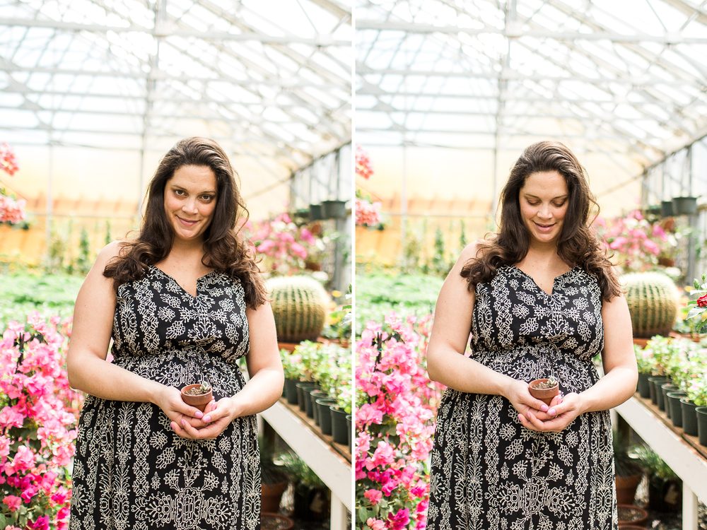 Sharon View Nursery | Boston Maternity Photographer
