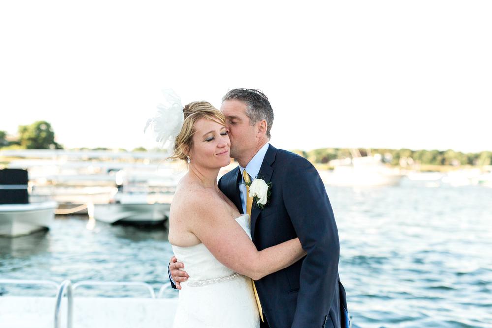 Oceanfront Duxbury Maritime School Wedding