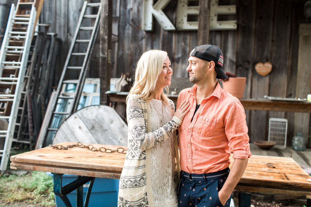 Brimfield Antique Show Engagement Session | Boston Engagement Photographer