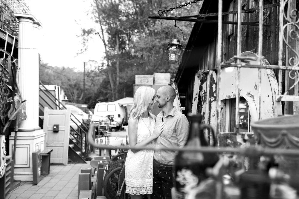 Brimfield Antique Show Engagement Session | Boston Engagement Photographer