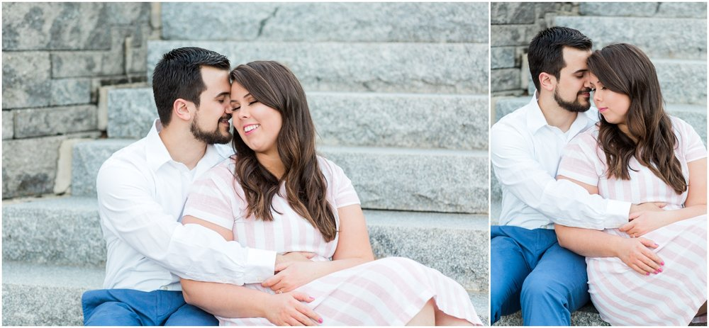Downtown Newmarket Mills Engagement Session + Boston Engagement Photographer