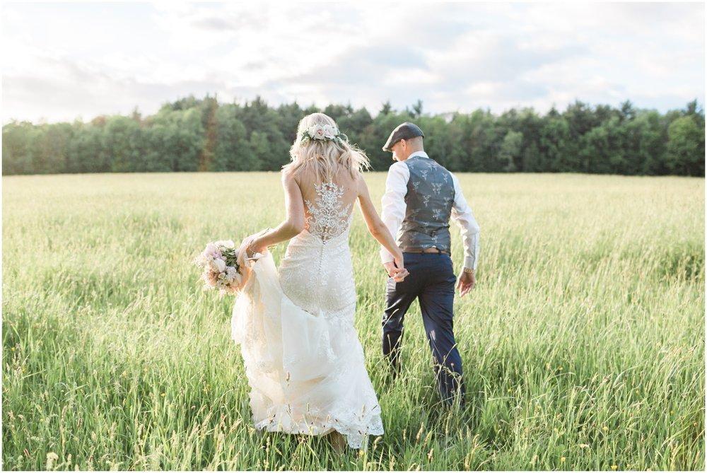 Rustic Barn Wedding + Boston Wedding Photographer
