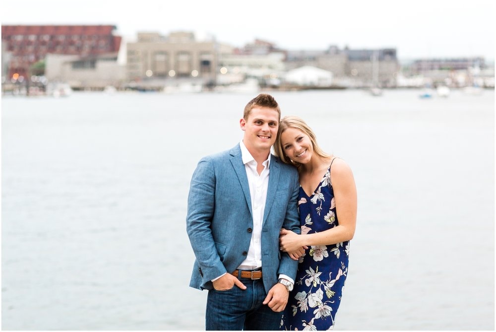 Boston Waterfront Engagement Session