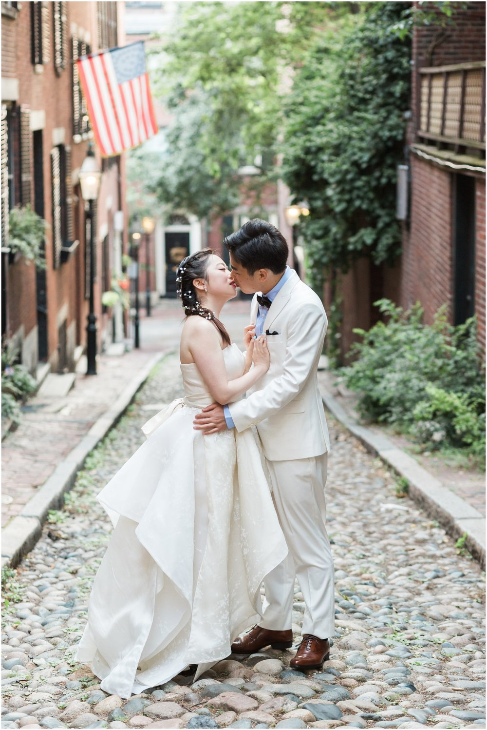 Acorn Street Engagement Session // Boston Engagement Photographer