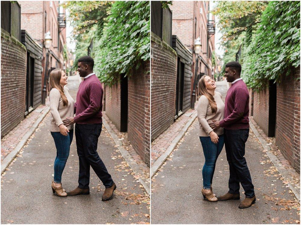 Beacon Hill Engagement Session // Boston Engagement Photographer