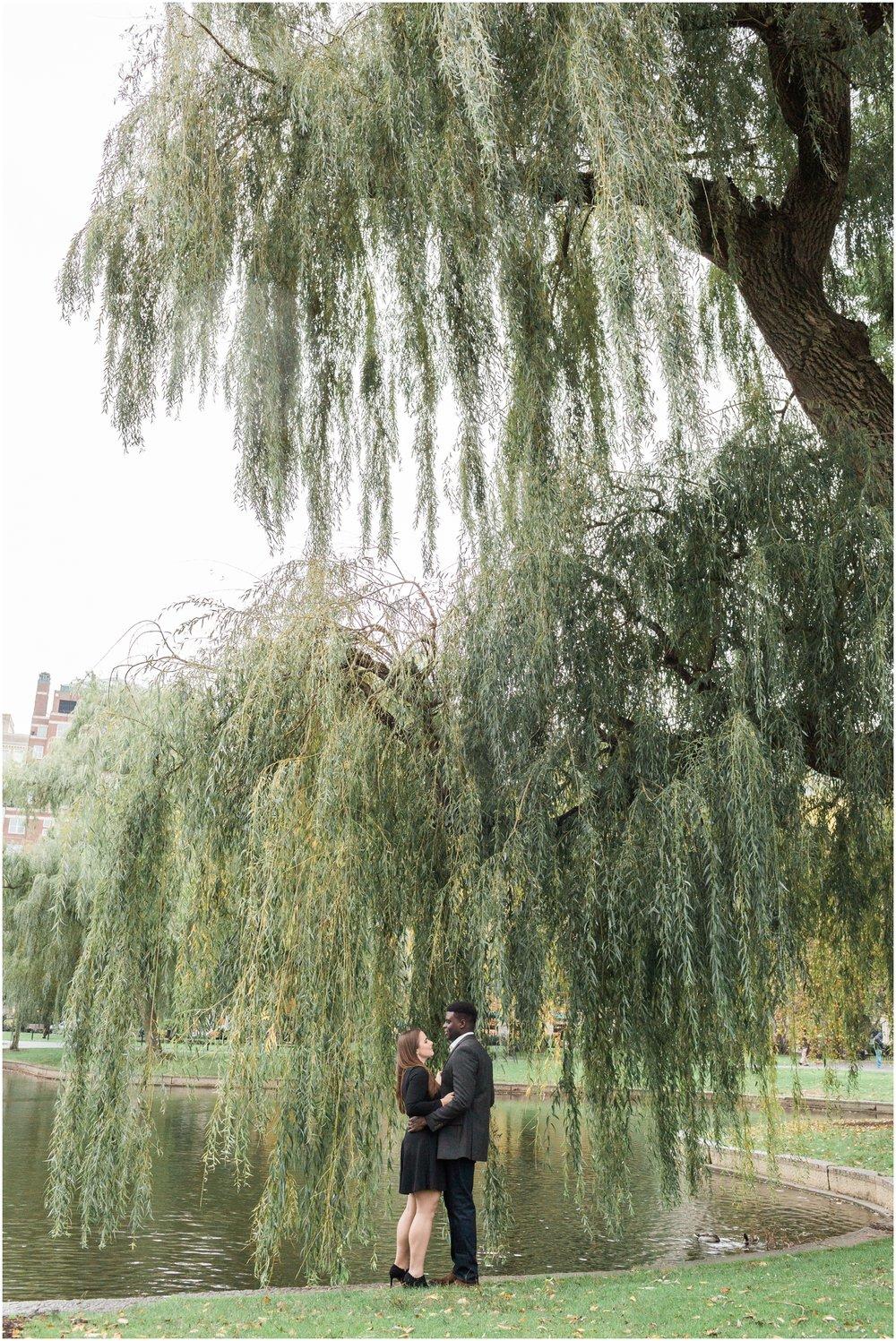Boston Public Gardens Engagement Session // Boston Engagement Photographer