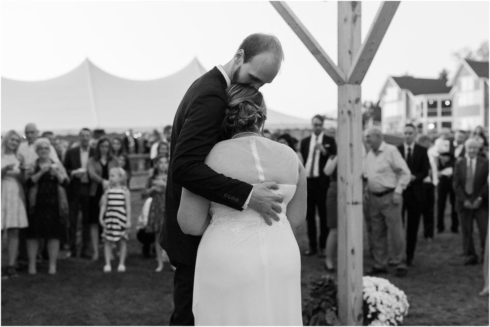 New Hampshire Backyard Wedding