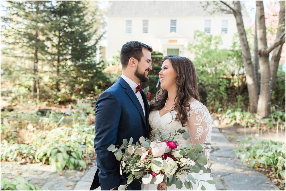 Colorful New Hampshire Fall Wedding at Three Chimney's Inn