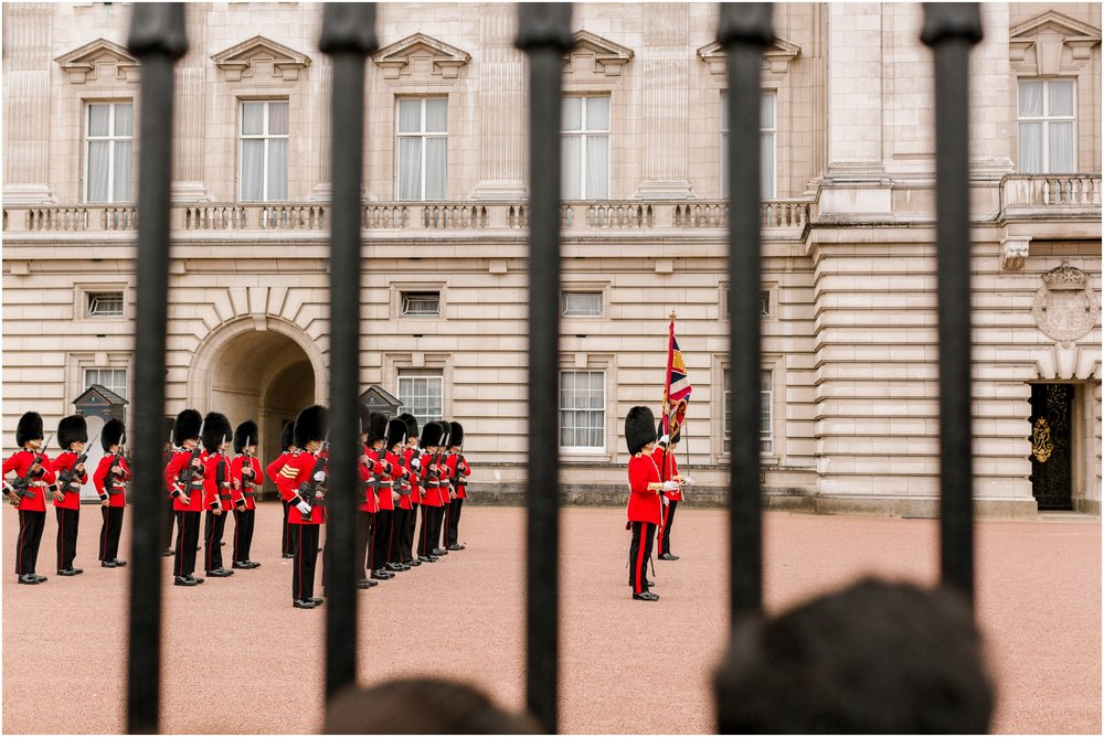 Changing of the Guards Buckingham Palace London