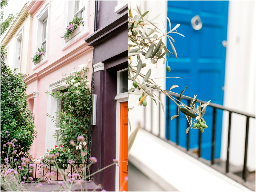 London Streets Notting Hill