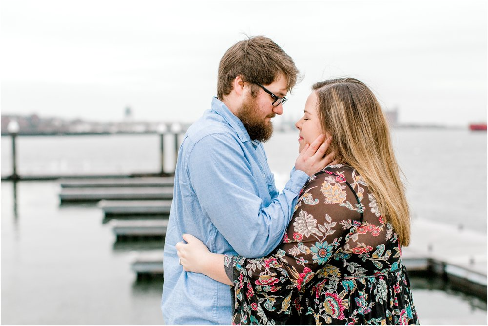 Boston Harbor Couples Session
