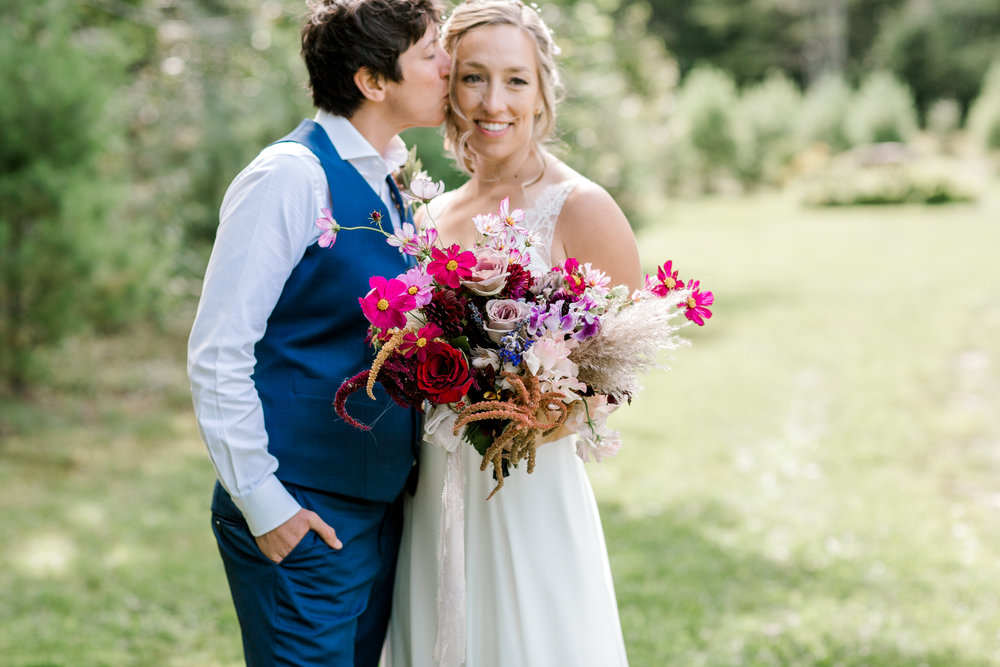 Rustic Vermont Wedding