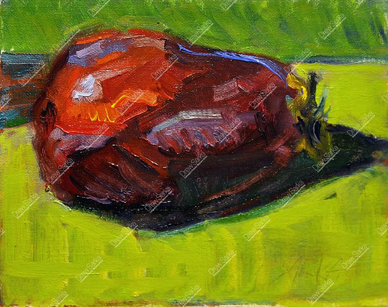 Eggplant, 8x10