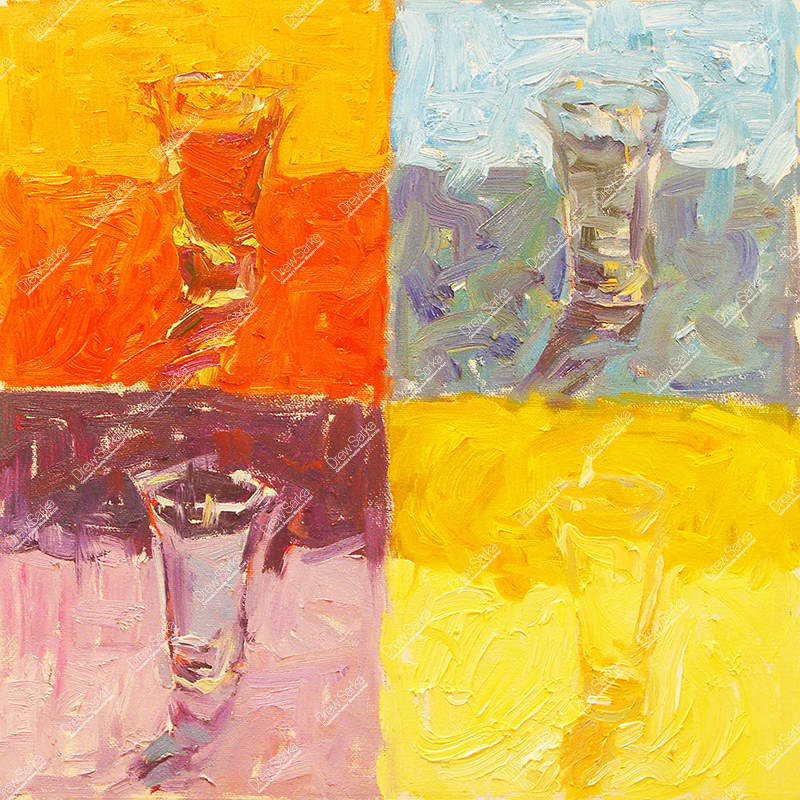Color Study Shotglass, 12x12