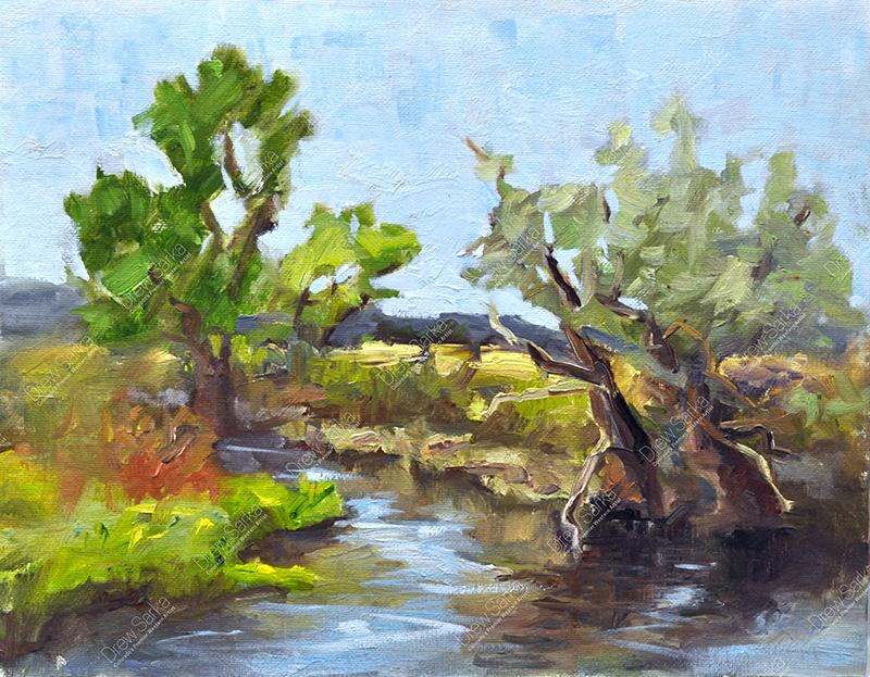 Platte River Plein Air, 11x14