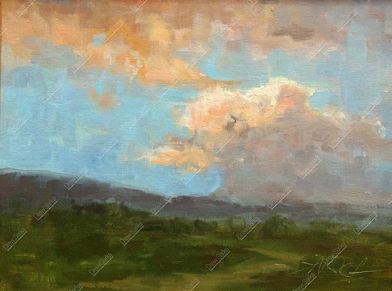 San Luis Valley Sunset, 8x10