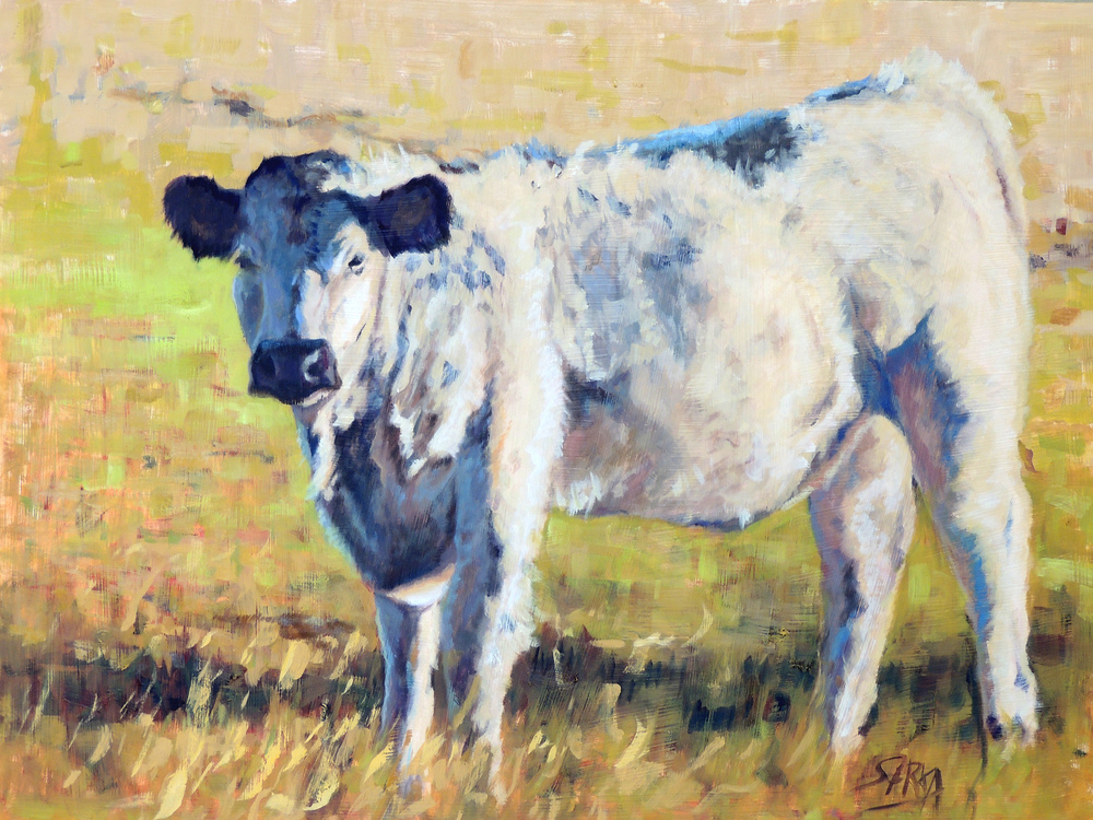 Outstanding In Her Field, 18x24