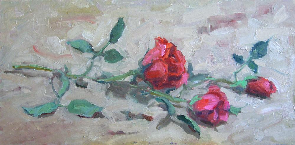 Roses 12x24