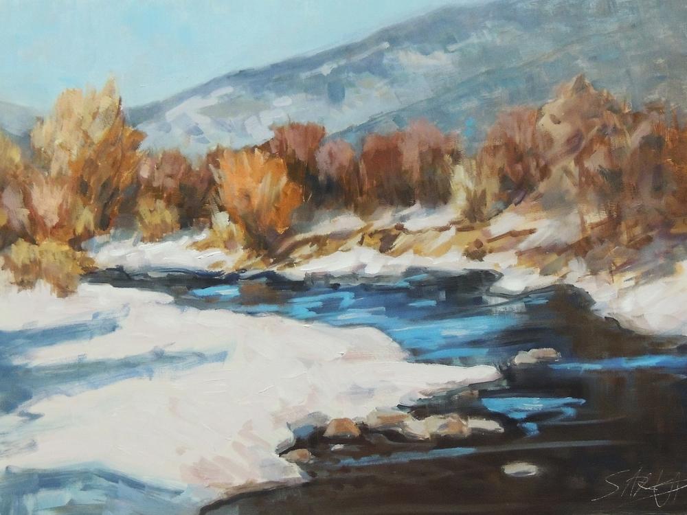 Blue River  12x16