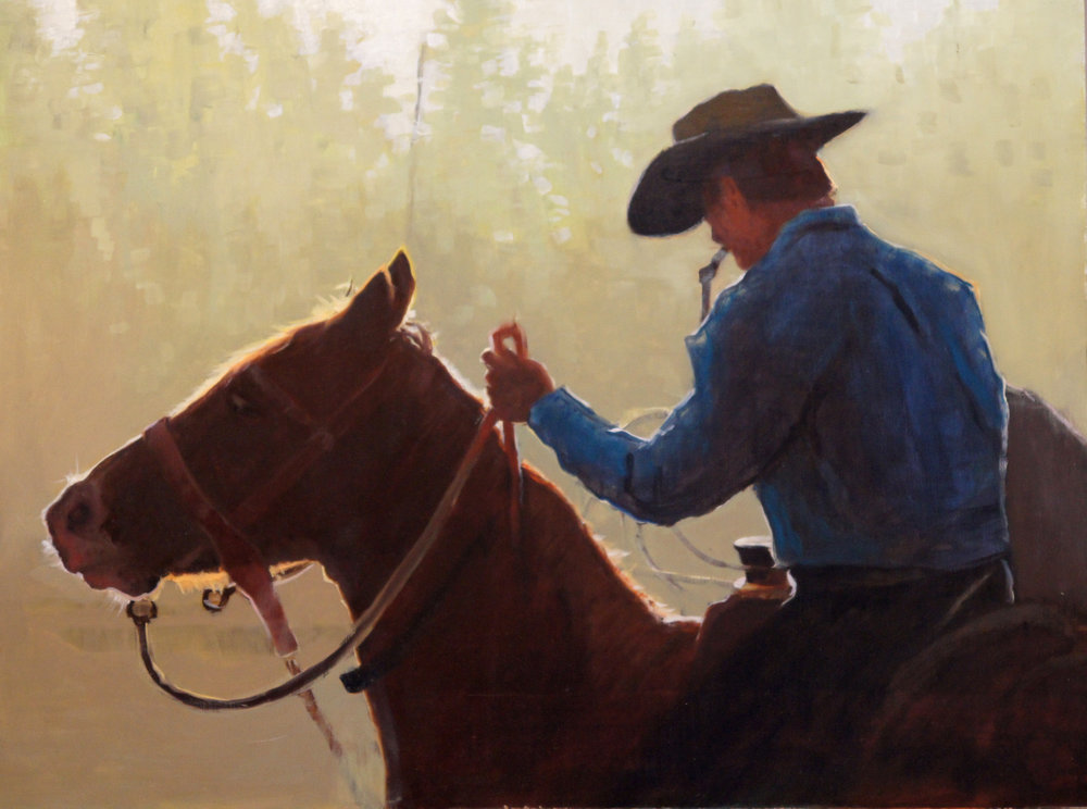 Cowboy Backlit