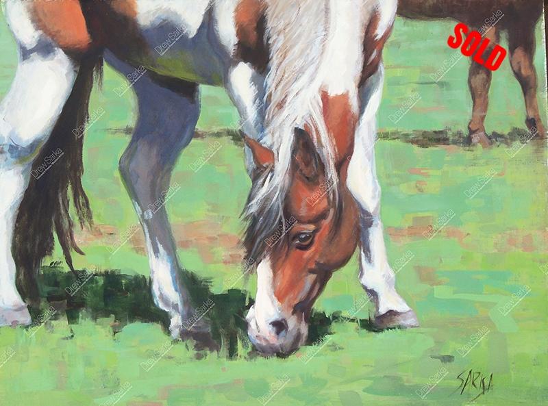 Grazing Paint, 18x24