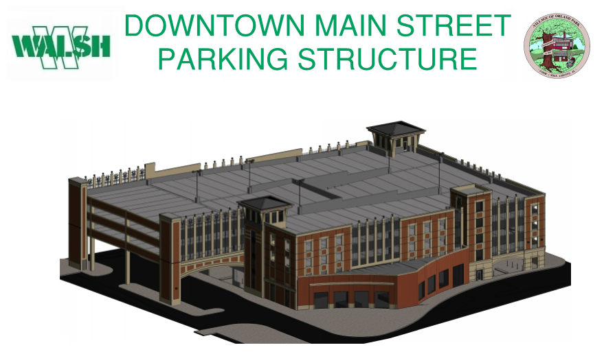 Downtown Main Street Parking Structure